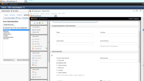 GBS AppDesigner FormBuilder