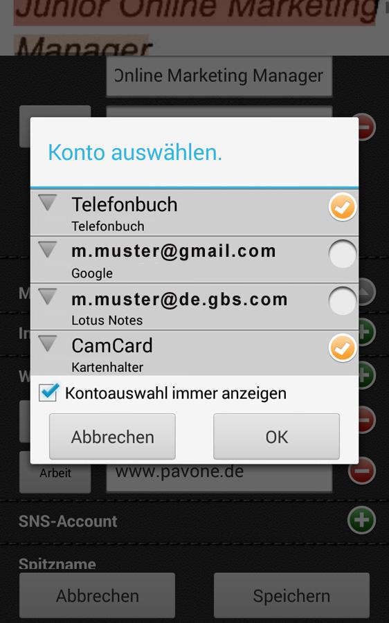 CamCard App