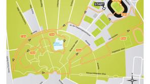 6,1 km rund um's Wildparkstadion