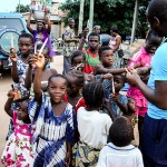 Spendenaktion in Togo