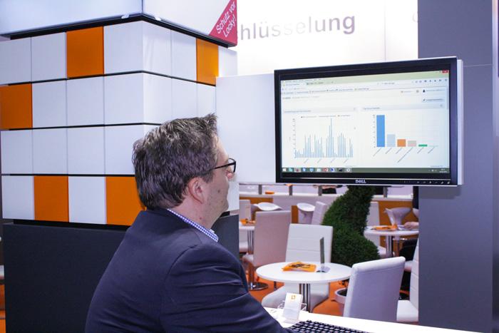 Heiko Brenn präsentiert unsere Data Leakage Prevention-Lösungen width=