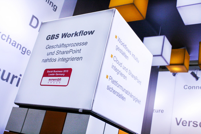 Das intuitive Erstellen von Workflows und das nahtlose Zusammenspiel mit MS SharePoint
