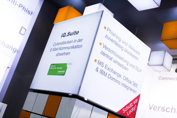 GBS iQ.Suite auf der CeBIT: Schutz vor Cyberattacken, Phishing & Erpressungstrojanern
