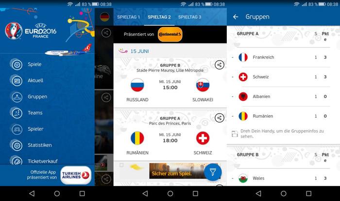 Die wichtigsten Features der App