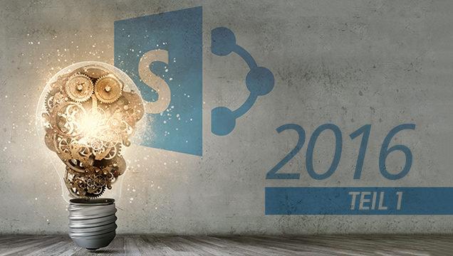 SharePoint 2016 - Teil 1 Banner