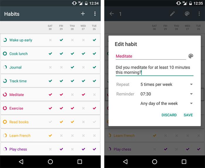 Loop Habbit Tracker App