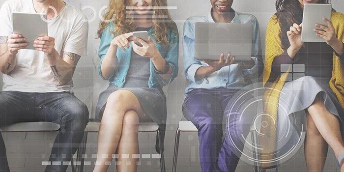 digitale Konnektivität