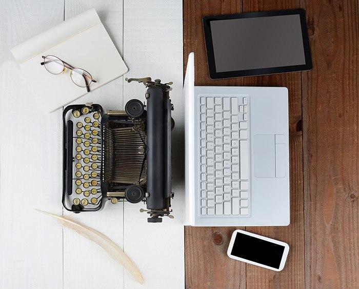 Von der Schreibmaschine zur virtuellen Realität