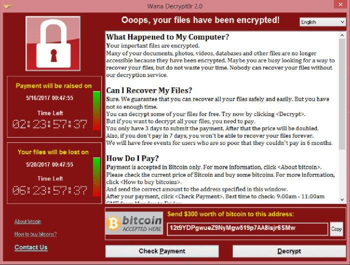 Schutz vor WannaCry